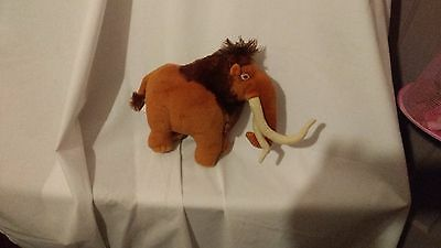 """9"""" cute soft mandy mammoth from ice age 3 posh paws plush doll"""