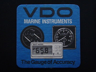 Vdo Marine Instruments The Guage Of Accuracy Coaster