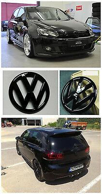 GRILLE & HATCH VW Replacement Badge for VOLKSWAGEN GOLF 6 R MK6 GTI Gloss BK