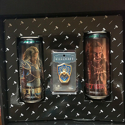 China 2016 Tsingtao Beer World of warcraft limited edition Empty 2Cans gift box