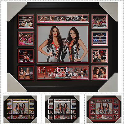 Bella Twins Signed Framed Memorabilia Limited Edition V1 - Multiple Variations
