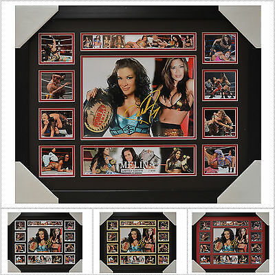 Melina Signed Framed Memorabilia Limited Edition V1 - Multiple Variations