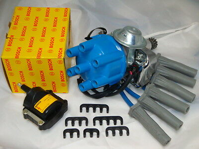 HOLDEN Electronic Distributor Complete Kit Coil & Leads 138 149 161 179 186 202
