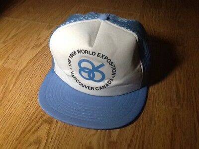 1986 World Exposition Vancouver Canada vintage trucker hat