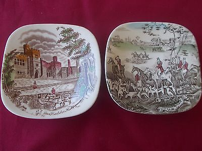 Pin Dishes from Johnson Bros in England.