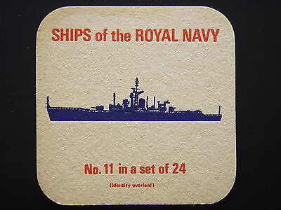 SHIPS OF THE ROYAL NAVY No.11 IN A SET OF 24 FRIGATES WHITBY CLASS 12 COASTER