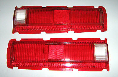 Tail Light Lenses RH & LH Pair for Bluebird 510 1969 - 1970