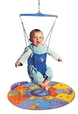 NEW Jolly Jumper Elite With Musical Mat Baby Activity Toy #`102