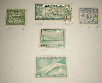 Paraguay airmail Stamps