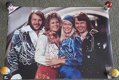 ABBA Poster - Waterloo - Official - Brand New