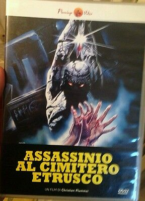 DVD - Assassinio al cimitero Etrusco - Sergio Martino - Rarissimo! FLAMINGO