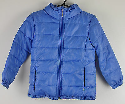 Girls Marks & Spencer Jacket Purple Lightweight Quilted Coat 6-7 Years M & S