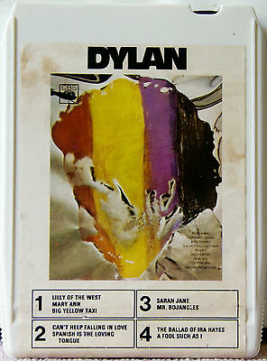 BOB DYLAN Dylan  8 TRACK TAPE  CARTRIDGE