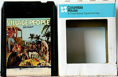 THE VILLAGE PEOPLE Go West  8 TRACK TAPE  CARTRIDGE