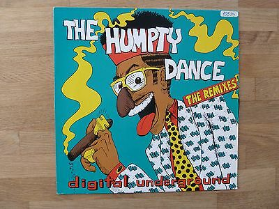 "Digital Underground - The Humpty Dance (The Remixes) 12"" vinyl single"