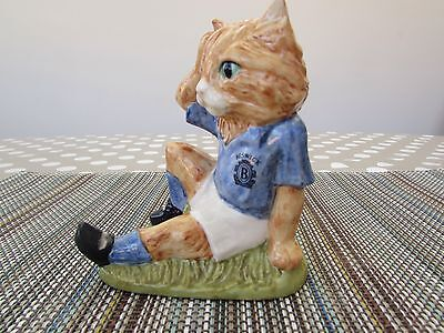 """Rare Beswick/royal Doulton.footballing Felines.""""mee-Ouch.ff2."""