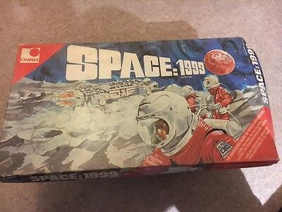 'space: 1999' 1974 Vintage Board Game - Free 1St Class Post