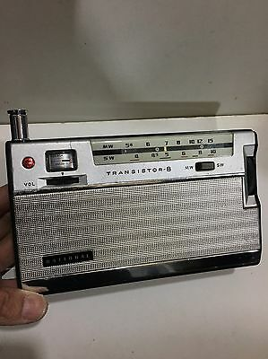 Vintage  World Radio National 2-Bands  Mw(-Am) Sw-1960S