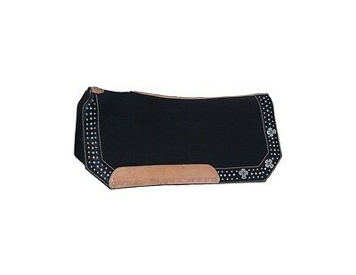 Tough-1 Saddle Pad Cheyenne Buckle Set Bling Accenst 28 x 30 31-7735