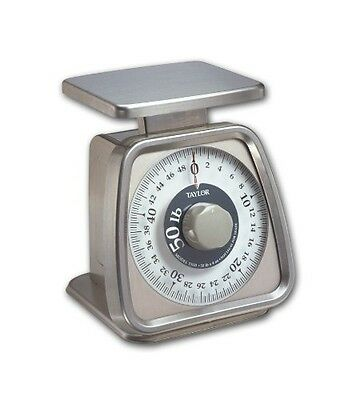 Taylor Precision Products Stainless Steel Analog Portion Control Scale