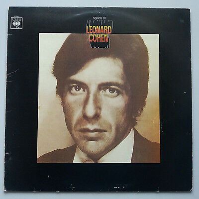 Leonard Cohen - Songs of - Vinyl LP Uk 1st 1967 Press A4/B2 Orange Labels