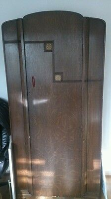Vintage 3 piece Bedroom Suite Wardrobe chest drawers dressing Table Bowman Bros