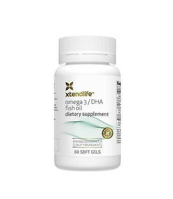 Omega 3 DHA Fish Oil (60 gel caps) - xtendlife