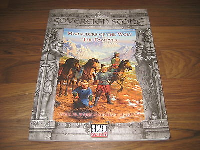 d20 Sovereign Stone Marauders of the Wolf The Dwarves  Sourcebook 2003 SVP 3308