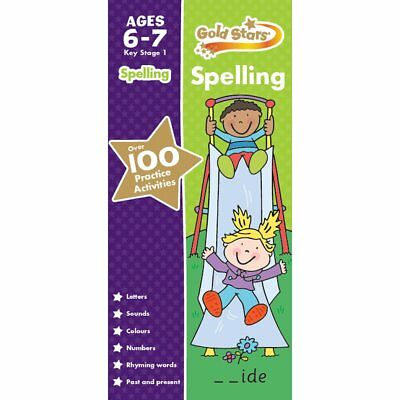 Gold Stars Key Stage 1 Spelling Ages 6-7 Years