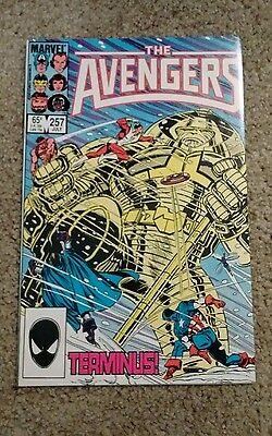 Avengers #257 1St. Appearance Nebula - Guardians Of The Galaxy Vf + To Nm