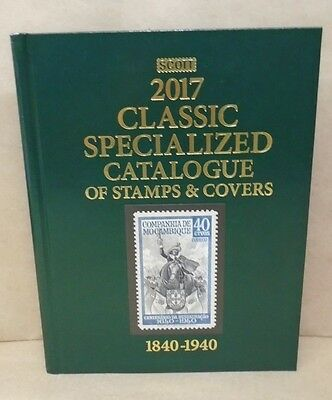2017 Scott Classic Catalogue of Worldwide Stamps and Covers 1840-1940 23rd Ed.