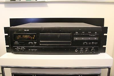 Tascam DA-20 - Digital Audio Tape Deck - DAT Recorder