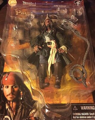 Disney Pirates Of The Carribean Captain Jack Sparrow Action Figure