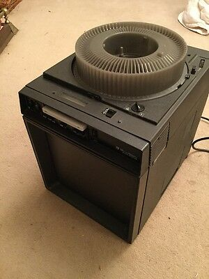 Bell & Howell Slide Carousel  Projector Viewer With Sound Cassette 799BX