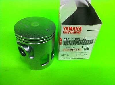 new oem yamaha dt125 piston 1st over 2a6-11635-00