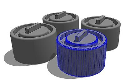 124 to 120 Film Spool Adapters