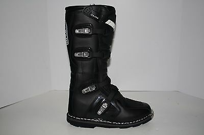 Open Box Answer Racing Mens Fazer Off Road Dirt Bike Boots Black Size 10