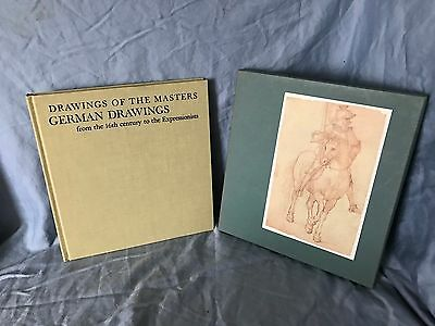 Drawings of the Masters German 16th Century to Expressionists Slipcase Nice 1963