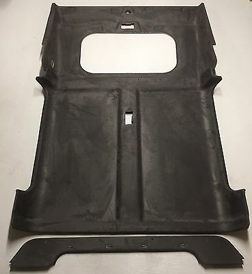 Land Rover Defender 300/td5/tdci County Station Wagon Black Roof Lining Sunroof