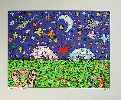 James Rizzi James Rizzi Love Bugs - Farblithografie