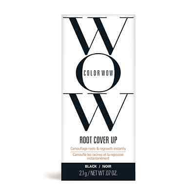 COLOR WOW HAIR ROOT AND REGROWTH COVER UP- Black