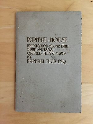 illustrated Book 1931 entitled RAPHAEL HOUSE by RAPHAEL TUCK ESQ Postcard Artist