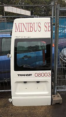 Ford Transit Mk6 N/S Complete Rear Door with Glass