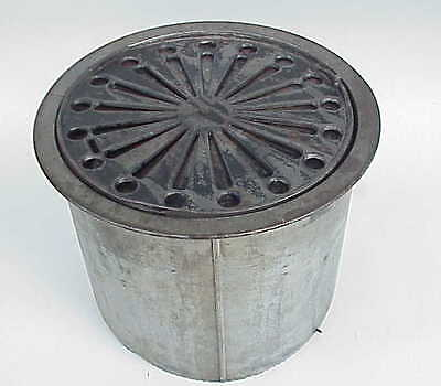 Unique Antique Bretch Mfg Dayton OH Ohio 1878 Cast Iron Furnace Grate Register