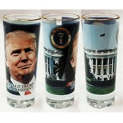 Donald Trump 45Th President Shooter Shot Glass New