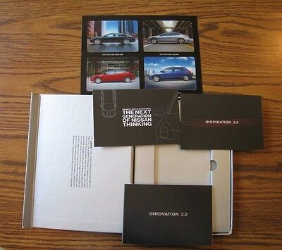"""Collectable """"NEXT GENERATION OF NISSAN THINKING"""" 2007 promotion / advertising"""
