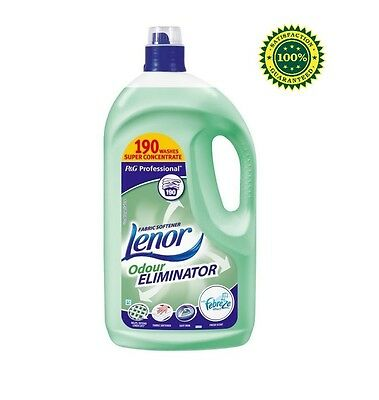 Lenor Professional Fabric Softener Conditioner Odour Elimination 3.8L, 190 Wash