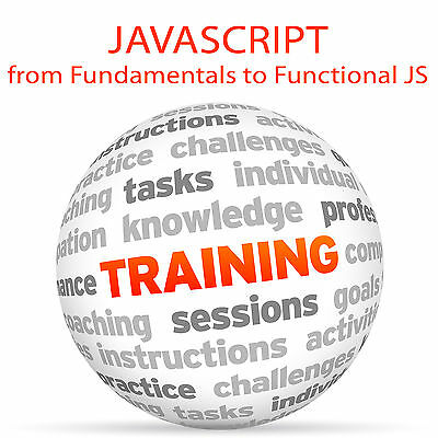 JAVASCRIPT from Fundamentals to Functional JS - Video Training Tutorial DVD