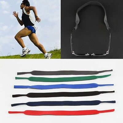 Spectacle Glasses Sunglasses Neoprene Stretchy Sports Band Strap Cord Holder Hot