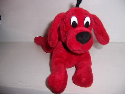 Clifford The Big Red Dog Plush Red Laying Stuffed Animal Scholastic